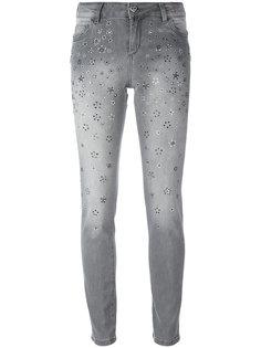 джинсы скинни с заклепками Twin-Set