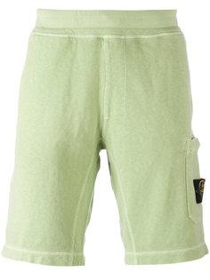 спортивные брюки с карманами по бокам Stone Island