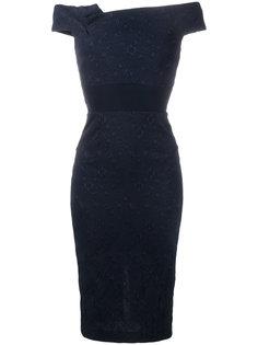 """платье """"Monamy"""" с открытыми плечами  Roland Mouret"""