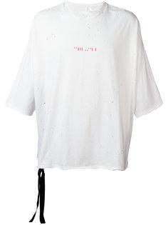 футболка свободного кроя  Unravel Project