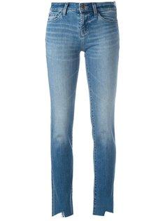джинсы с необработанными краями J Brand