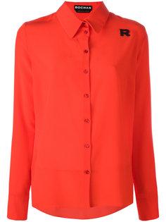 рубашка с нашивкой R  Rochas