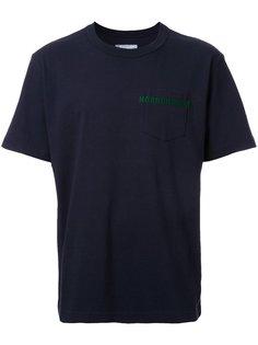 футболка с накладным карманом Horrorshow  Sacai