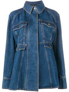 джинсовая куртка с баской Ellery