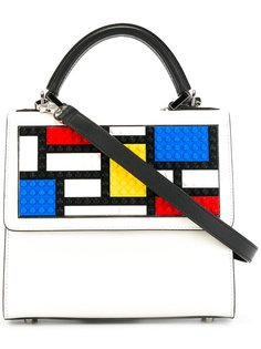 сумка-тоут с геометрическим узором Les Petits Joueurs