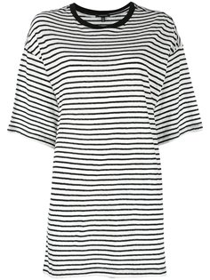 полосатая футболка  R13