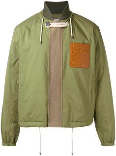 куртка бомбер с нашивкой логотипа Loewe