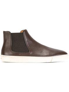 ботинки с эластичными панелями Santoni