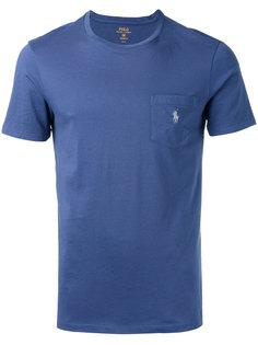 футболка с нагрудным карманом Polo Ralph Lauren