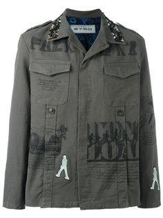 куртка в стиле милитари Etro