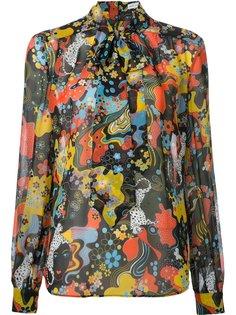 блузка Vedda с абстрактным принтом Mary Katrantzou