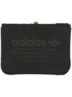 клатч с принтом логотипа Adidas Originals
