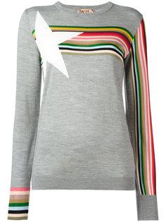 свитер с полосками Nº21