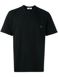футболка свободного кроя MSGM