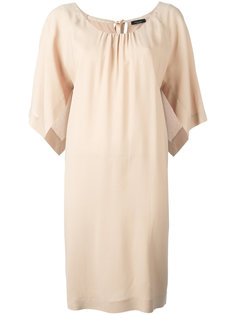 платье шифт с разрезами на рукавах Roberto Collina