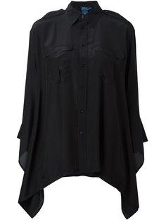 рубашка с расклешенным подолом Polo Ralph Lauren