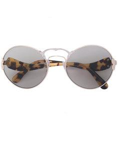 tortoiseshell round sunglasses Prada Eyewear