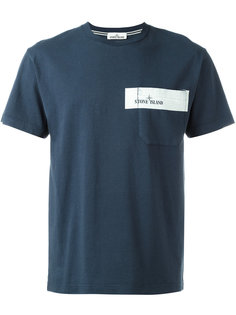 футболка с нагрудным карманом  Stone Island