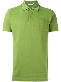 рубашка-поло с накладным карманом Sunspel