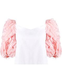 ruffle sleeved blouse Rosie Assoulin