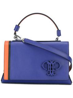 сумка через плечо с бляшкой с логотипом Emilio Pucci