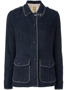 куртка с декоративным швом Fay