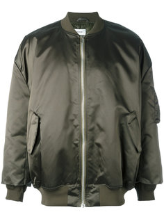 объемная куртка бомбер Hed Mayner