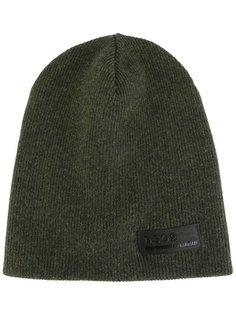 шапка-бини в рубчик Dsquared2
