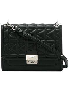 стеганая сумка на плечо  Karl Lagerfeld