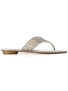 studded flip flops  René Caovilla