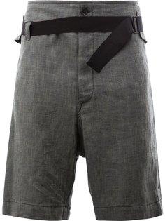 шорты с эластичным поясом Ann Demeulemeester