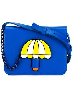 umbrella print shoulder bag  Yazbukey