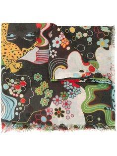 шарф с абстрактным принтом Mary Katrantzou
