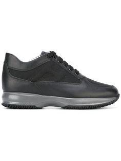 кроссовки на платформе со шнуровкой Hogan