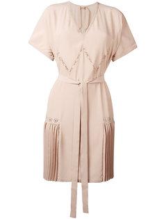 платье с V-образным вырезом Nº21