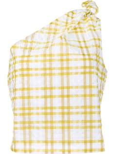 checked on shoulder top Rosie Assoulin