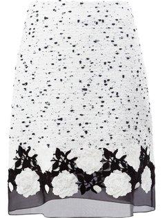 юбка с тюлевым подолом Giambattista Valli
