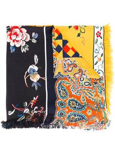 шарф с цветочным рисунком Pierre-Louis Mascia