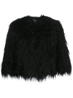 пальто из искусственного меха Theory