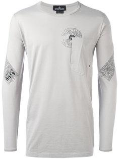футболка с длинными рукавами и нагрудным карманом Stone Island Shadow Project