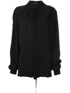 объемная рубашка Ann Demeulemeester Blanche