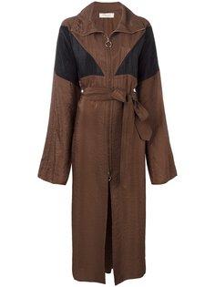 long zipped trenchcoat Nina Ricci