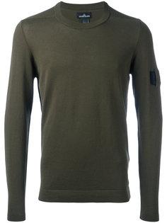 свитер с круглым вырезом  Stone Island Shadow Project