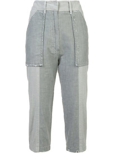 cropped trousers  Victor Alfaro