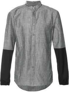 рубашка с воротником-стойкой Public School