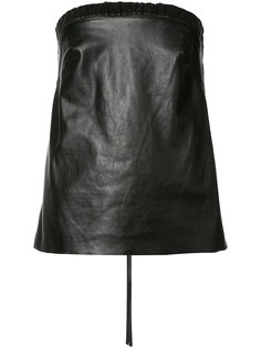 Alma leather top Hellessy