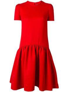 плиссированное платье-бэбидол Alexander McQueen