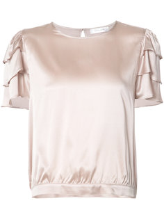 frill sleeves top Anine Bing