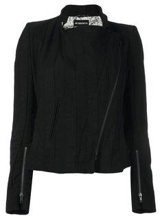 пиджак со смещенной молнией Ann Demeulemeester Blanche