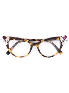 """солнцезащитные очки в оправе """"кошачий глаз"""" Dsquared2"""